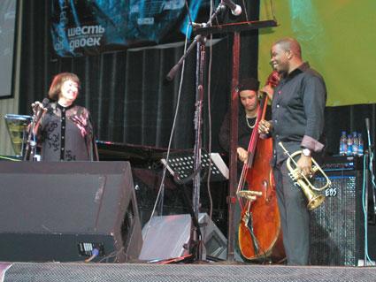 Джаз на Байкале - Sheyla Jordan, Lucas Curtis, Jeremy Pelt