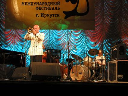 Джаз на Байкале - Давид Голощекин, Дмитрий Аверченков, Сергей Кушилкин