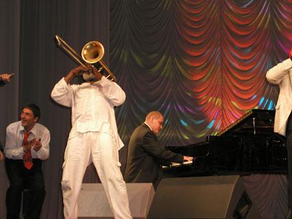 Джаз на Байкале - Frank Lacy, Александр Филиппов.